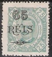 Angola, 1902, # 65 Dent. 13 1/2, MH - Angola