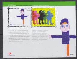 Europa Cept 2006 Azores M/s ** Mnh (44693) @ Face - 2006