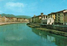 PISA-L ARNO E S. MARIA DELLA SPINA-VIAGGIATA 1965  F.G. - Pisa