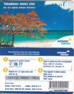 FRENCH ANTILLES & REUNION - Beach, Outremer Telecom Prepaid Card 40 FF, Used - Antillen (Frans)