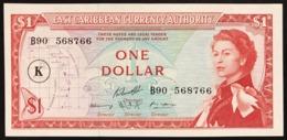 East Caribbean  1 Dollar 1965 Sup Lotto.2782 - Oostelijke Caraïben