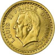 Monnaie, Monaco, Louis II, Franc, Undated (1943), SUP, Bronze-Aluminium - Mónaco