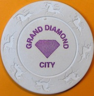 $25 Casino Chip. Grand Diamond, Poipet, Cambodia. Q05. - Casino