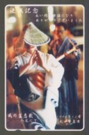 Japan Phone Card Traditional Dress - Japon