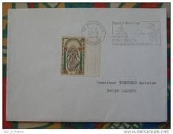 Flamme Concordante Slogan Meter Mont Saint Michel Pontorson Manche - Marcophilie (Lettres)