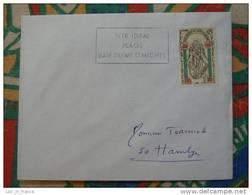 Flamme Concordante Slogan Meter Mont Saint Michel St Jean Le Thomas Manche - Mechanical Postmarks (Advertisement)