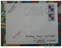 Flamme Concordante Slogan Meter Remparts Citadelle Montreuil Sur Mer Pas De Calais - Marcophilie (Lettres)