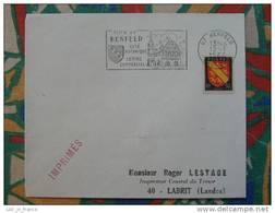 Flamme Concordante Slogan Meter Benfeld Bas Rhin - Marcophilie (Lettres)