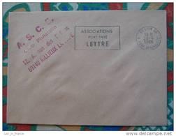 Flamme Slogan Meter PORT PAYE ASSOCIATIONS Lyon - Marcophilie (Lettres)