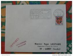 Flamme Concordante Slogan Meter Louhans Volailles De Bresse Saone Et Loire - Marcophilie (Lettres)