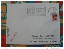 Flamme Concordante Slogan Meter Louhans Volaille De Bresse Saone Et Loire - Marcophilie (Lettres)