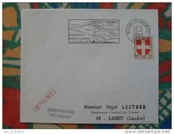 Flamme Concordante Slogan Meter Montagne Mountain Bourg St Maurice Savoie - Marcophilie (Lettres)