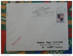 Flamme Concordante Slogan Meter Fort Mahon Plage Somme - Marcophilie (Lettres)