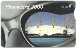 UK - BT (Chip) - BCC-183 - Phonecard 2000, Millennium Dome, 3£, 11.310ex, Used - Reino Unido