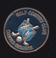60028-pin's Golf Country Club Cannes Mougins. - Golf