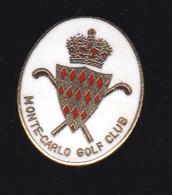 60030-pin's Monte Carlo Golf Club.signé Corner... - Golf