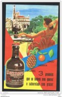 ETIQUETTE OLD LABEL - BUSSACO Buçaco -JUS CITRON ANANAS ORANGE JUICE LEMON PINAPLE - PORTUGAL - Fruits & Vegetables