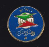 60035-pin's FITAV - Federazione Italiana Tiro A Volo, Rome, Italy..Tir.fusil... - Boogschieten
