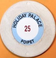 $25 Casino Chip. Holiday Palace, Poipet, Cambodia. Q05. - Casino