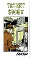 Dépliant BD. Publicité. Ticket Story Pour Transport De La RATP, Illustrateur Floc'h. - Livres, BD, Revues