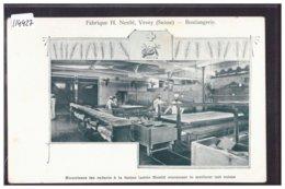 DISTRICT DE VEVEY - VEVEY - FABRIQUE NESTLE - LA BOULANGERIE - B ( LEGER PLI D'ANGLE ) - VD Vaud
