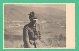 Alpini Alpino Foto Ricordo Anni 30 / 40 - War, Military