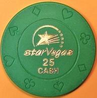 $25 Casino Chip. Star Vegas, Poipet, Cambodia. Q05. - Casino