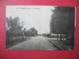 CPA    1936    Seine Et Marne  Pontcarré  Les 4 Routes - Andere Gemeenten