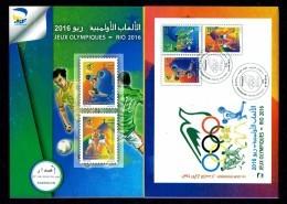 Algérie 2016 - Notice Folder Olympic Games Rio 2016 Olympics Juegos Olímpicos JO Olympische Spiele Brazil - Summer 2016: Rio De Janeiro