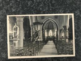 Lendelede - Kerk Binnenzicht  -  St Antonius Drukerij Mondy Vanfleteren - Lendelede