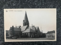 Lendelede - Kerk En Gemeentehuis   -  St Antonius Drukerij Mondy Vanfleteren - Lendelede