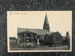 Lendelede - Kerk En Kiosk   -  St Antonius Drukerij Mondy Vanfleteren - Lendelede