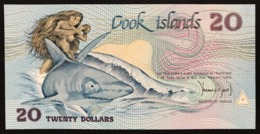 ISOLE COOK 20 DOLLARI 1987 Pick 5  Fds LOTTO 2778 - Cookeilanden