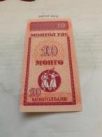 Mongolia 10 Mongo Unc. Banknote 1993 - Mongolia