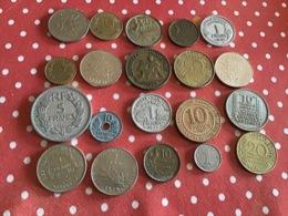 Lots De 20 Pièces Voir Le Scan - Münzen & Banknoten