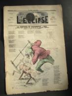 L'ECLIPSE N° 58 Du 28 Février  1869 - La Rentrée De Rocambole, Par Gill - Journaux - Quotidiens