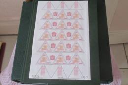 Monaco 1980  Timbres Taxe Cat Yt N) 63 à 70     En Feuilles Entières N** MNH - Taxe