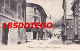 CARRARA - CORSO VITTORIO EMANUELE F/PICCOLO VIAGGIATA ANIMAZIONE - Massa