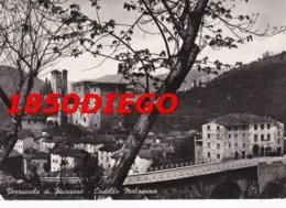 VERRUCCOLA DI FIVIZZANO - CASTELLO MALASPINA F/GRANDE VIAGGIATA 1954 - Massa