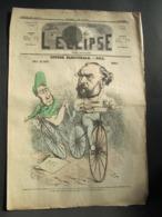 L'ECLIPSE N° 69 Du 16 Mai 1869 - Course Electorale..par Gill - Journaux - Quotidiens