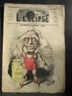 L'ECLIPSE N° 70 Du 23 Mai 1869 - Le Citoyen Raspail,.par Gill - Journaux - Quotidiens
