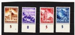 RAD59 DEUTSCHES REICH 1941 MICHL 805/09  ** Postfrisch Siehe ABBILDUNG - Unused Stamps