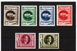 RAD63 DEUTSCHES REICH 1943 MICHL 844/49  ** Postfrisch Siehe ABBILDUNG - Unused Stamps