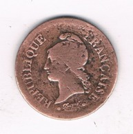 UN CENTIME 1848 A FRANKRIJK /6594/ - France