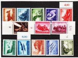 RAD70 DEUTSCHES REICH 1944 MICHL 873/85  ** Postfrisch Siehe ABBILDUNG - Unused Stamps