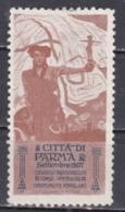 ITALY -  Poster Stamps - Città Di Parma. Settembre 1907. Congressi - Inaugurazioni -Corse - Spettacoli. - Italy