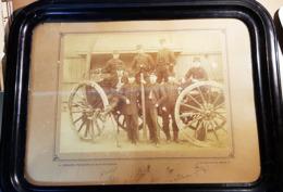 ECOLE POLYTCHENIQUE MILITAIRES ALBUMINEE DES ANNEES 1880 FORMA 24 X 30 AVEC LES SIGNATURES - Photos