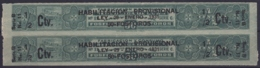 REP-343 CUBA REPUBLICA REVENUE MATCHES FOSFOROS IMPORTACION TAX. BLACK HABILITACION PROVISIONAL. - Timbres-taxe
