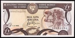 Cipro 1 $ Dollaro 1993 Fds  LOTTO 2754 - Zypern