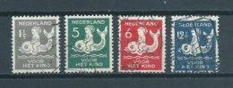 1929 Netherlands Complete Set Child Welfare,kinderzegels Used/gebruikt/oblitere - Usati